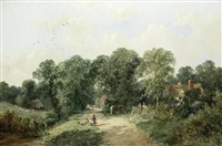 An old country lane, 1861