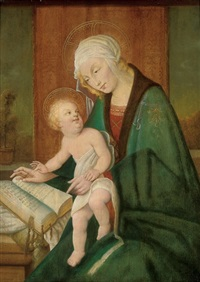 the madonna and child by sandro botticelli