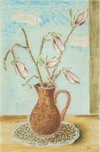 stilleben mit lilien by bruno goller