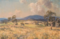 mount dandenong from mount waverley by james ranalph jackson