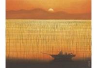 evening calm by tatsuya ishiodori