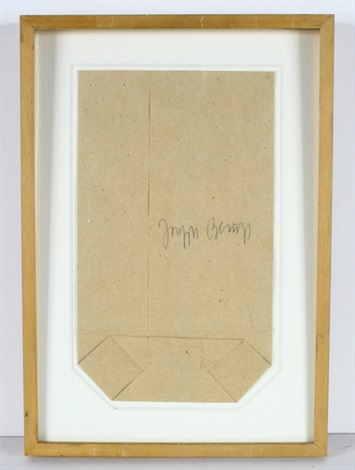 ddr tüte by joseph beuys