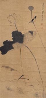 荷花小鸟 by chen shuaizu