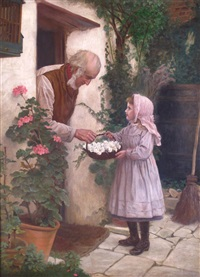 flowers for the wedding by william hooper