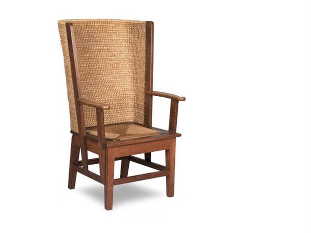 An Oak Framed Orkney Chair By Reynold Eunson