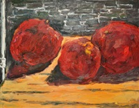 three pomegranates by vicky marshall