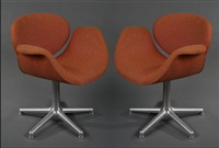 paire de fauteuils modèle 545 dit little tulip (set of 2) by pierre paulin