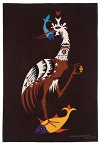 bird with fish by leonora carrington