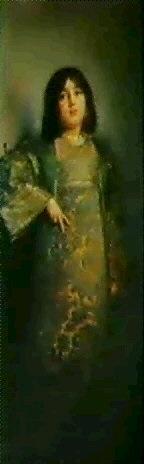 bildnis der schwester im kimono by rudolf wimmer