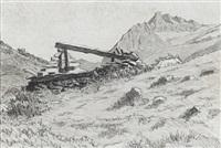 bergerie abandonnée by léon demole