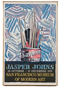 savarin (for san francisco museum of modern art exhibition) by jasper johns