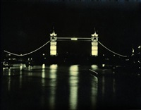 london bei nacht by ack (jock) ware