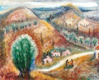 galilean landscape by albert goldman