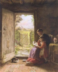the reading lesson by george hardy
