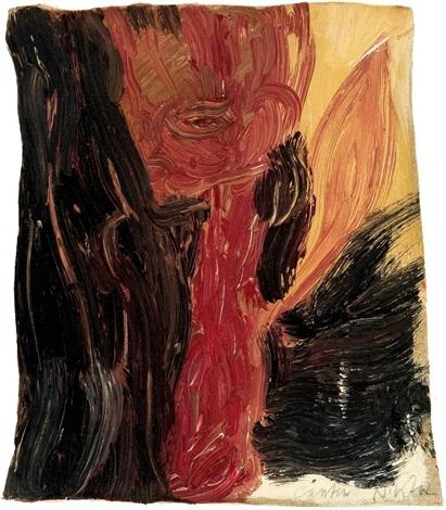 ohne titel flammenfigur by carsten nicolai