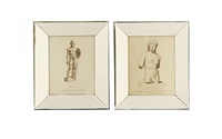 sculptures (set of 10) by john conde