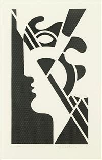 modern head v (from modern head series) by roy lichtenstein