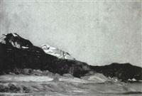 berglandschaft by karl ihler