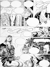 le singe, planche n°61 by milo manara