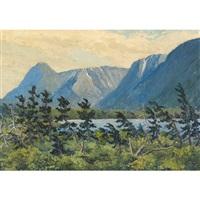 long range mts., newfoundland by gordon edward pfeiffer