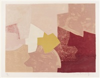 composition rose by serge poliakoff