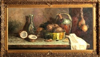 still life with coconuts by paul ritter