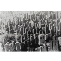 gravestones and heart by zoe leonard