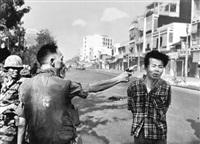 saigon (general nguyen ngoc loan executing a viet cong prisoner nguyen van lém) by eddie adams