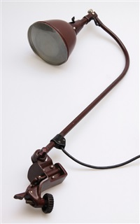 arbeitsleuchte midgard modell 117 peitsche by cuno fischer