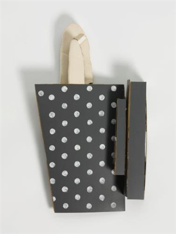 untitled grey white for artificial light by richard tuttle