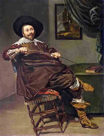 willem van heythuyzen by frans hals the elder