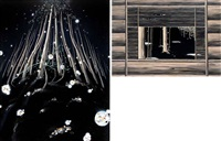 untitled 1 (+ untitled 2; 2 works) by mitsuhiro ikeda