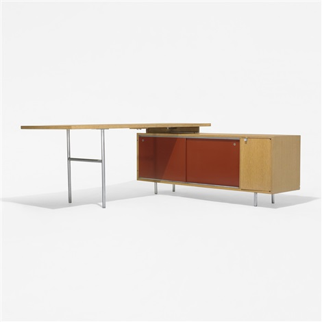 executive office desk and return by george nelson associates