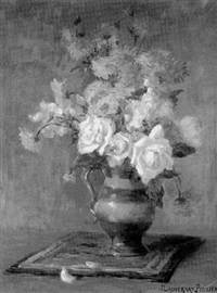 floral still life by jeanne lauvernay-petitjean