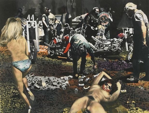 Hells Angels of California by John Erik Franzen on artnet