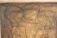 three children by angel botello