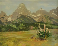 teton mountains by r. brownell mcgrew