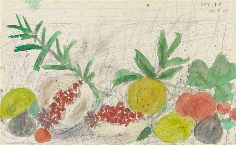 südliche früchte früchtestilleben by max pfeiffer watenpuhl