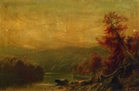 autumn afternoon by george frederick bensell