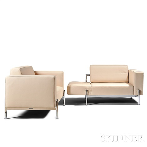 Remarkable Pair Of De Sede Convertible Lounge Chairs By De Sede On Artnet Beatyapartments Chair Design Images Beatyapartmentscom