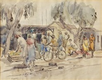 the market by durant basi sihlali