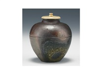 tea container by yamamoto toshu
