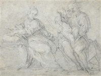 the rest on the flight into egypt by cavaliere giovanni baglione
