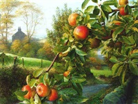 landscape with apples by raymond booth