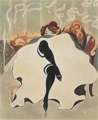 Le Frou-Frou : Maquette. 1900, 1900