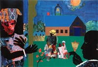 school bell time by romare bearden