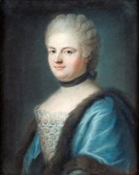 drottning maria leczinska av frankrike by franz bernhard frey