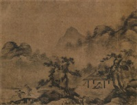 mountains after the rain by xu daoning