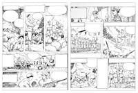 le découverte du monde en bandes dessinées (2 works) by milo manara