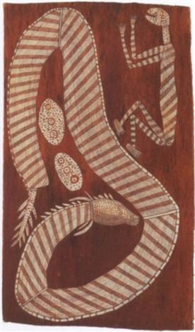 namu miyak mali malin and norna rainbow serpent by david milaybuma